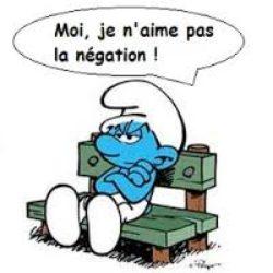 La frase negativa in francese