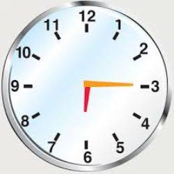 Parlare di un orario o del proprio impiego del tempo
