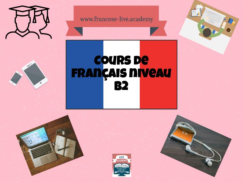Corso di francese individuale B2.1