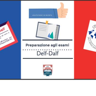 Corso di preparazione per l'esame Delf A1.