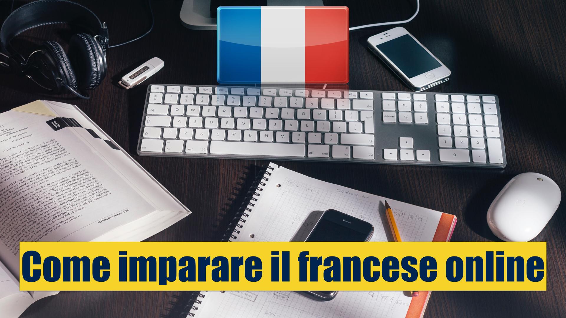 Come imparare il francese online