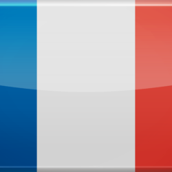 Le  drapeau tricolore français