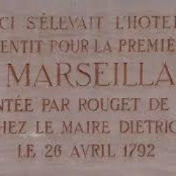 La Marseillaire, hymne national français.