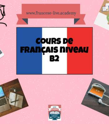 Corso di francese online individuale B2
