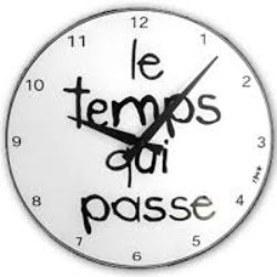 Vocabulary related to time in french