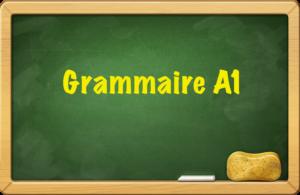 Esercizi di francese online grammaire A1