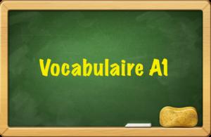 esercizi online di francese vocabulaire A1