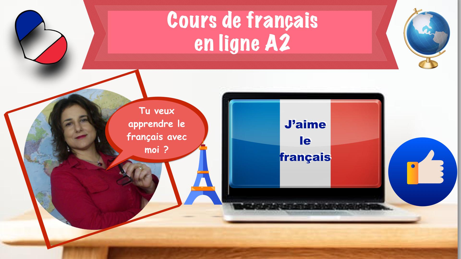 Videocorso di francese online A2. Opzione base