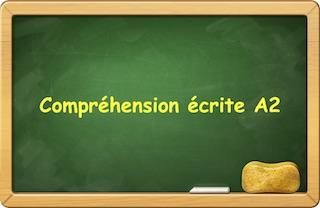 esercizi di francese online comprensione scritta A1